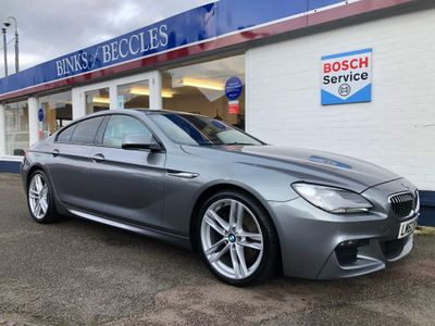 BMW 6 Series Gran Coupe Saloon 3.0 640d M Sport Gran Coupe 4dr