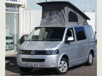 Volkswagen Transporter Campervan T5 SWB BERTH 4SEAT CAMPERVAN REIMO ELEVATING ROOF