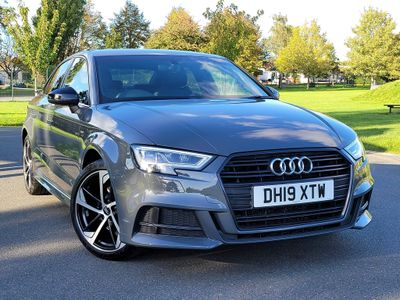 Audi A3 Saloon 1.5 TFSI CoD 35 Black Edition S Tronic (s/s) 4dr