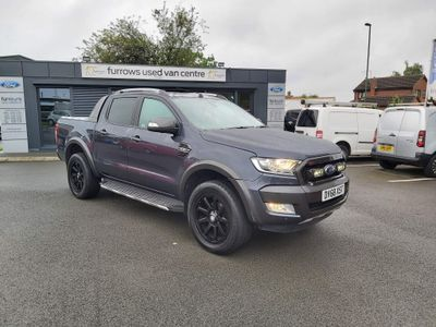 Ford Ranger Pickup 3.2 TDCi Wildtrak Double Cab Pickup Auto 4WD 4dr
