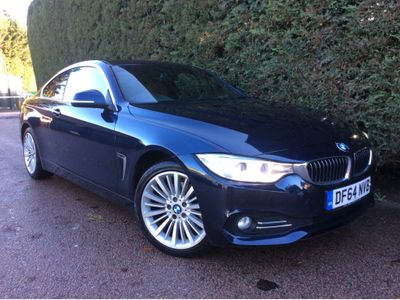 BMW 4 Series Coupe 2.0 420d Luxury xDrive 2dr