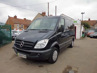 MERCEDES-BENZ SPRINTER Panel Van 2.1 CDI 209 5dr SWB