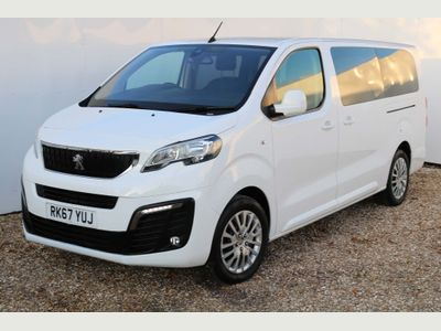 Peugeot Traveller MPV 1.6 BlueHDi Active (s/s) 5dr (Long, 8 seats)