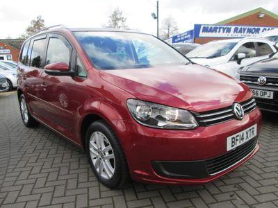 Volkswagen Touran MPV 1.6 TDI BlueMotion Tech SE 5dr (7 Seats)