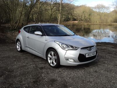 Hyundai Veloster Coupe 1.6 Blue Drive 4dr