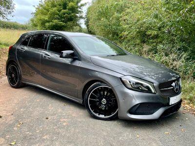 Mercedes-Benz A Class Hatchback 1.6 A180 AMG Line (Premium) (s/s) 5dr