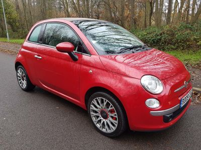 Fiat 500C Convertible 1.4 16v Lounge 2dr