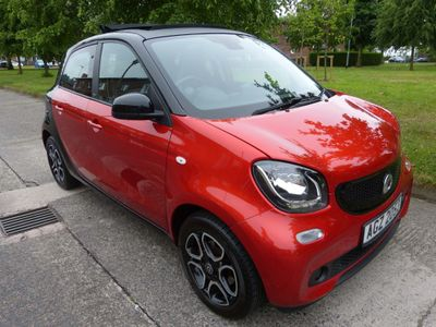 Smart forfour Hatchback 1.0 Prime Night Sky (Premium) Twinamic (s/s) 5dr