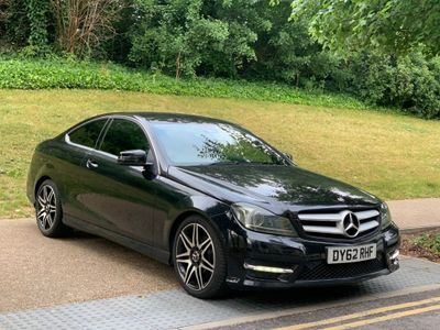 Mercedes-Benz C Class Coupe 1.6 C180 BlueEFFICIENCY AMG Sport Plus 7G-Tronic Plus 2dr