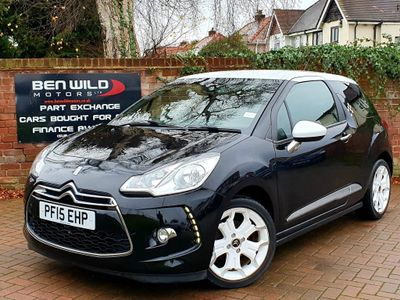 Citroen DS3 Hatchback 1.6 e-HDi DStyle Ice 3dr