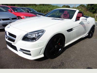 Mercedes-Benz SLK Convertible 1.8 SLK250 BlueEFFICIENCY AMG Sport 7G-Tronic Plus 2dr