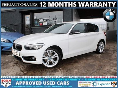 BMW 1 Series Hatchback 1.5 116d Sport Sports Hatch Auto (s/s) 5dr