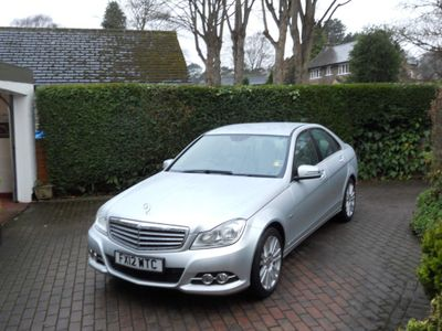 Mercedes-Benz C Class Saloon 2.1 C200 CDI BlueEFFICIENCY Elegance 7G-Tronic 4dr