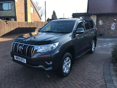Toyota Land Cruiser SUV 2.8D Active Auto 4WD 5dr (7 Seat)