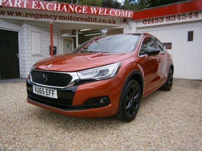 DS AUTOMOBILES DS 4 CROSSBACK Hatchback 1.6 BlueHDi Crossback (s/s) 5dr
