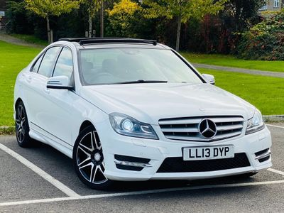 MERCEDES-BENZ C CLASS Saloon 1.6 C180 BlueEFFICIENCY AMG Sport Plus 7G-Tronic Plus 4dr