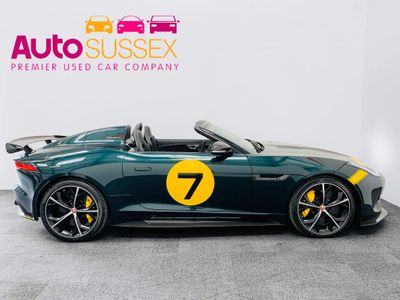 Jaguar F-Type Convertible 5.0 V8 Project 7 Quickshift 2dr