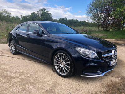 Mercedes-Benz CLS Coupe 3.0 CLS350d V6 AMG Line G-Tronic+ (s/s) 4dr
