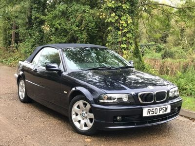 BMW 3 Series Convertible 2.5 325Ci 2dr