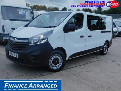 Vauxhall Vivaro Combi Van 1.6CDTI 120PS 9 SEAT COMBI VAN EURO 6