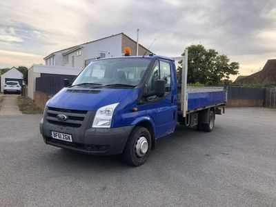 Ford Transit Dropside 2.4 TDCi 350 Chassis Cab RWD EF 2dr (DRW, Extended Frame, LWB)