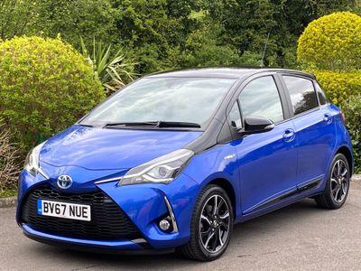 Toyota Yaris Hatchback 1.5 VVT-h Blue Bi-Tone E-CVT (s/s) 5dr