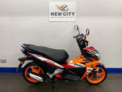 Honda NSC50R Moped Sporty