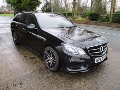 Mercedes-Benz E Class Estate 2.1 E220 CDI BlueTEC AMG Night Edition 7G-Tronic Plus 5dr