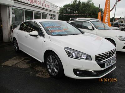 Peugeot 508 Saloon 1.6 e-HDi GT Line (s/s) 4dr