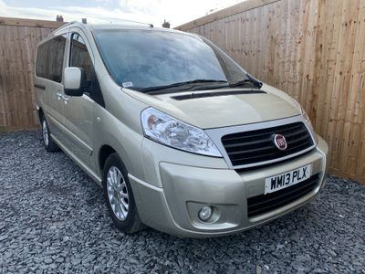 Fiat Scudo Other 2.0 JTD MultiJet L2 Panorama Family 5 Seater 5dr (EU5)