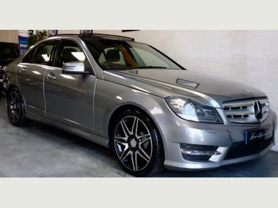 Mercedes-Benz C Class Saloon 2.1 C250 CDI AMG Sport Plus 7G-Tronic Plus 4dr