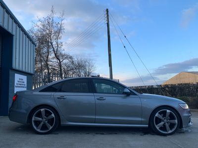 Audi A6 Saloon Saloon 3.0 TDI Black Edition Multitronic 4dr