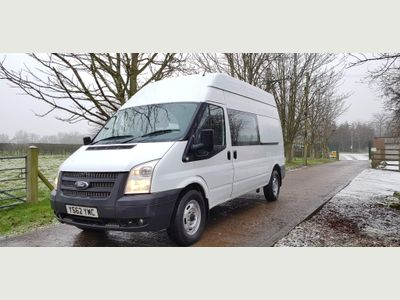 Ford Transit Panel Van 350 HI ROOF CAMPER / DAY VAN