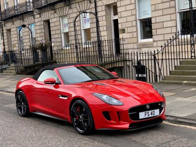 Jaguar F-Type Convertible 5.0 V8 S Quickshift 2dr
