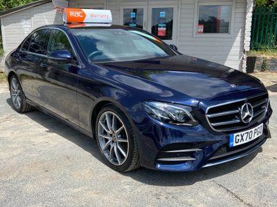 Mercedes-Benz E Class Saloon 2.0 E220d AMG Line Edition (Premium) G-Tronic+ (s/s) 4dr