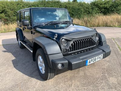 Jeep Wrangler SUV 2.8 CRD Sport Unlimited 4WD 4dr