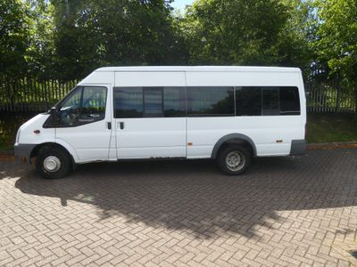 Ford Transit Minibus 2.4 TDCi 430 Duratorq High Roof Bus RWD EL 5dr (Extra Long, 17 Seat)