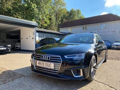 Audi A4 Saloon 2.0 TFSI 35 S line S Tronic (s/s) 4dr
