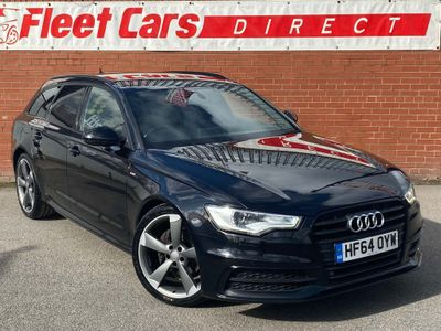 Audi A6 Avant Estate 2.0 TDI ultra Black Edition 5dr