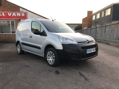 Citroen Berlingo Panel Van 1.6HDi 625 Enterprise 3 Seat Van