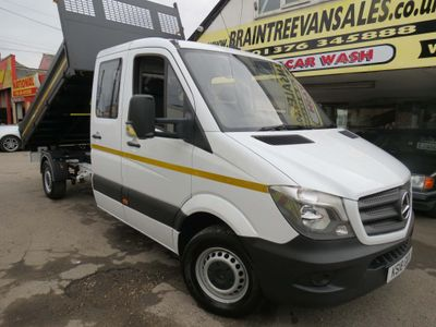 Mercedes-Benz Sprinter Tipper 2.1 CDI 314 D/CAB Tipper Diesel Manual