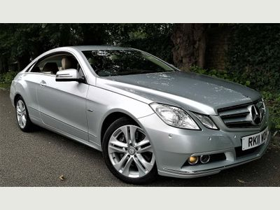 Mercedes-Benz E Class Coupe 3.0 E350 CDI BlueEFFICIENCY SE G-Tronic 2dr