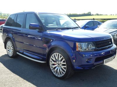 Land Rover Range Rover Sport SUV 5.0 V8 HSE Auto 4WD 5dr