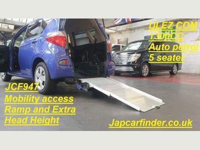 Toyota Yaris Verso Hatchback Ractis Mobility ramp + extra head height