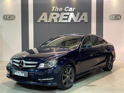 Mercedes-Benz C Class Coupe 1.8 C250 BlueEFFICIENCY AMG Sport 2dr