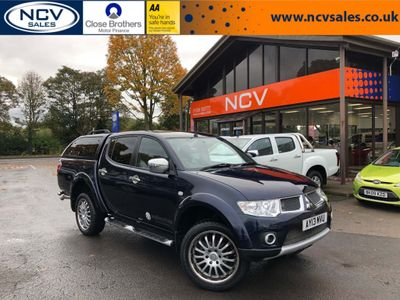 MITSUBISHI L200 Pickup 2.5 DI-D Walkinshaw Performance Double Cab Pickup 4WD 4dr