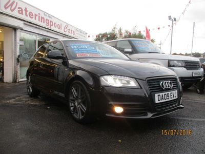 AUDI A3 Hatchback 1.8 TFSI Black Edition 3dr