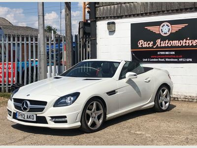 Mercedes-Benz SLK Convertible 2.1 SLK250 CDI BlueEFFICIENCY AMG Sport 7G-Tronic Plus 2dr