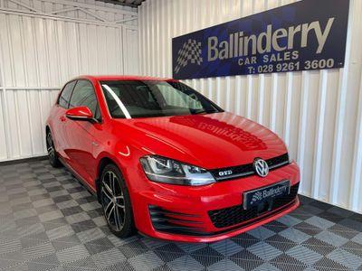 Volkswagen Golf Hatchback 2.0 TDI BlueMotion Tech GTD 3dr