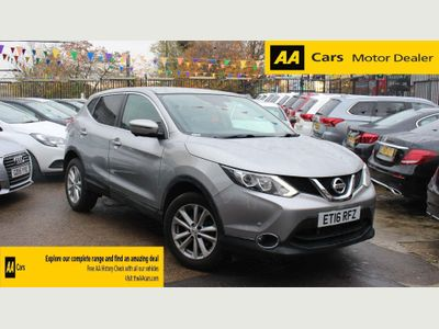 Nissan Qashqai SUV 1.2 DIG-T N-Connecta (Executive Pack) Xtronic CVT 5dr